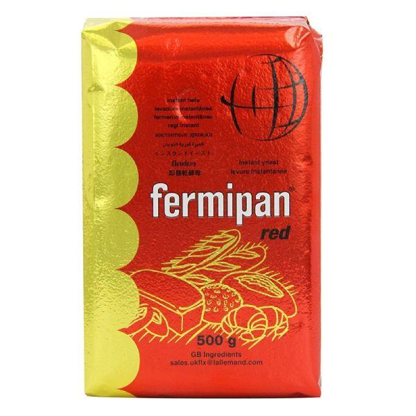 Fermipan Red Dried Instant Yeast Bulk Pack 500g
